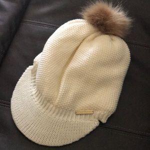 Bebe Fleece Lined Beanie Hat
